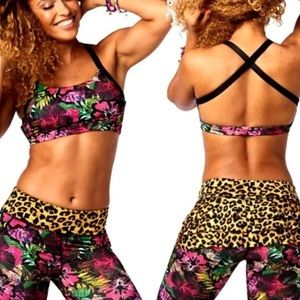 Zumba La pachanga Scoop Bra L